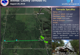 Map Of West Branch Michigan Four Confirmed tornadoes August 28th Severe Weather Summary