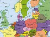 Map Of West Central Europe Map Of Europe Countries January 2013 Map Of Europe
