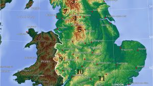 Map Of West Midlands England Mountains and Hills Of England Wikipedia