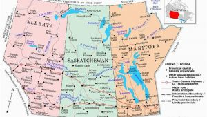 Map Of Western Canada Provinces Plan Your Trip with these 20 Maps Of Canada