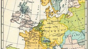 Map Of Western Europ Map Of Western Europe In the Time Of Elizabeth