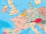 Map Of Western Europe Cities 64 Punctual West Europe Map with Cities