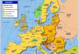 Map Of Western Europe Cities Map Of Europe Member States Of the Eu Nations Online Project