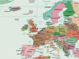 Map Of Western Europe with Major Cities Map Of Europe Europe Map Huge Repository Of European