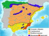 Map Of Western Spain Green Spain Wikipedia