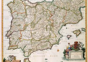 Map Of Western Spain History Of Spain Wikipedia