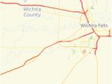 Map Of Wichita Falls Texas Home