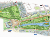 Map Of Windsor England Map Of Green Park and St James S Park London Here We Come St