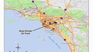 Map Of Yorba Linda California Brea Olinda Oil Field Wikipedia