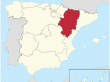 Map Of Zaragoza Spain Aragon Wikipedia