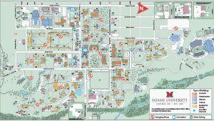 Map Oxford Ohio Ohio State University Maps Oxford Campus Maps Miami University