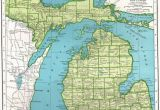 Map Pf Michigan Details About 1940 Antique Buffalo Map Vintage Map Of Buffalo New