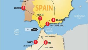 Map Spain and Morocco Map Of Spain and Morocco so Helpful Map Of Spain Morocco Et