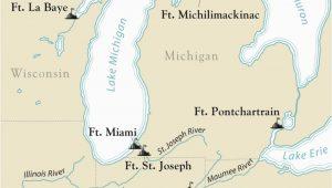 Map St Joseph Michigan Articles Encyclopedie Du Patrimoine Culturel De L Amerique
