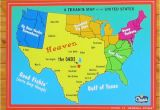 Map State Of Texas with Cities A Texan S Map Of the United States Texas