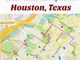 Map to Houston Texas Follow these 10 Expert Designed Self Guided Walking tours In Houston