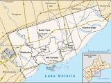 Map toronto Canada Surrounding area Royal Ontario Museum Wikipedia