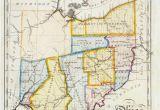 Map Versus Ohio John Melish Map Of Ohio Ohio History Genealogy Pinterest