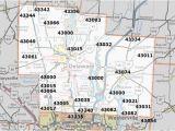 Map Westerville Ohio area Codes In Ohio Map Secretmuseum