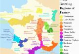 Map Wine Regions Of France French Wine Growing Regions and An Outline Of the Wines