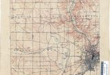 Map Xenia Ohio Ohio Historical topographic Maps Perry Castaa Eda Map Collection