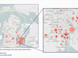 Maps Drugs Michigan Report Details Hardest Hit Michigan areas for Opioid Use Drug