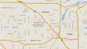Maps Of Anaheim California Maps Of Disneyland Resort In Anaheim California