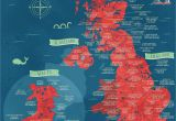 Maps Of England and Scotland A Literal Map Of the Uk Welsh Things Map Of Britain Map