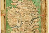 Maps Of England and Scotland Map Of England and Scotland Circa 1250 History Map Of