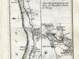 Maps Of Ireland Roads 1778 Taylor Skinner Antique Ireland Road Map 125 126