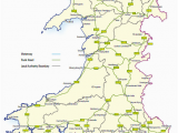 Maps Of Ireland Roads Trunk Roads In Wales Wikipedia