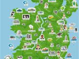 Maps Of Ireland with Counties Map Of Ireland Ireland Trip to Ireland In 2019 Ireland Map