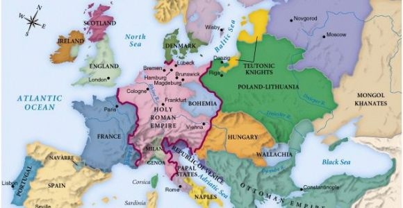 Maps Of Medieval Europe 442referencemaps Maps Historical Maps World History