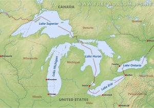 Maps Of Michigan Lakes United States Map Of Michigan New Map United States Lakes Valid Us