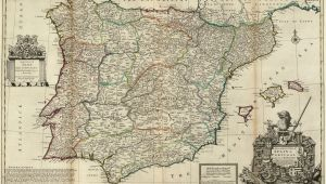 Maps Of Spain and Portugal File Spain and Portugal Herman Moll 1711 Jpg Wikimedia Commons