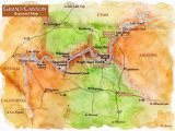 Marble Colorado Map Map Of Sites Near Grand Canyon Grand Canyon Regional Map Grand