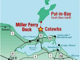 Marblehead Ohio Map Miller Ferry Lowest Fares to Put In Bay Middle Bass island Ohio