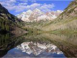 Maroon Bells Colorado Map Maroon Bells and Maroon Lake In Spring Picture Of Maroon Lake