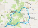 Maroon Bells Colorado Map Your Out Of town Visitors Will Love This Epic Road Trip Across
