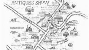 Mathis Texas Map Antiques Show Map Round top Register Fall 2017 Round top