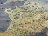 Medieval Map Of France France Jean Claude Golvin Castle Study In 2019 France