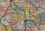 Mercer County Ohio Map 1900 S Road Maps Of Pennsylvania