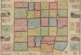 Mercer County Ohio Map Ancestor Tracks Mercer County