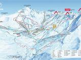 Meribel Map France Val Thorens Piste Map 2019 Ski Europe Winter Ski