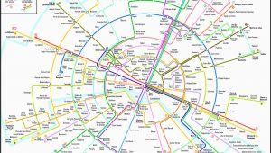 Metro Map Of Paris France Paris Metro Map Subway System Maps In 2019 Paris Metro Paris