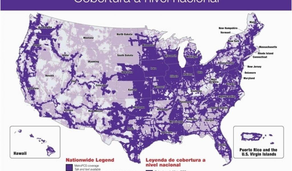 Metro Pcs Coverage Map Michigan Metropcs Coverage Map 2017 ...