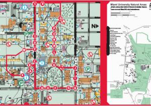 Miami Ohio Campus Map Oxford Campus Maps Miami University