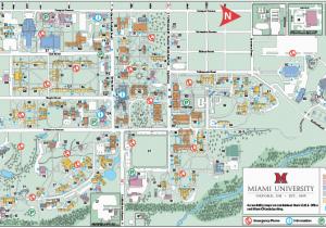 Bundy Campus Map.Miami Ohio Campus Map Oxford Campus Map Miami University Click To