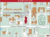 Miami University Ohio Map Oxford Campus Maps Miami University