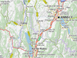 Michelin Maps France Route Planner Bloye Map Detailed Maps for the City Of Bloye Viamichelin